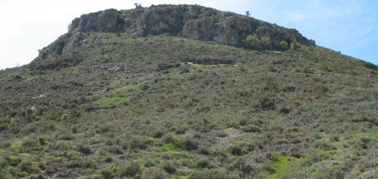 22 de Mayo 2017. Corte geológico del arroyo de Teatinos a Cerro Cabello (Málaga)