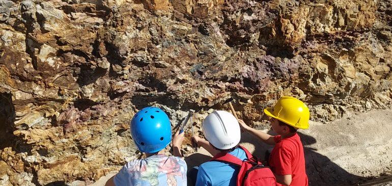 11 de Marzo 2017. Taller de minerales y rocas al aire libre. Montes de Málaga