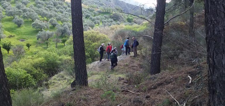 12 de Marzo 2017. Visita al distrito minero los Jarales (Carratraca) y minas del Sapo (Álora )