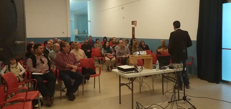 17 de Marzo 2017. I Ciclo de Encuentros Geológicos Málaga. Clausura