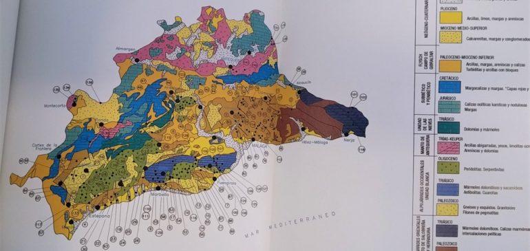 19 de Julio 2017. Minerales y Rocas de la provincia de Málaga. Un hito mineralógico en la literatura geológica malagueña. Aula museo de geologia Málaga