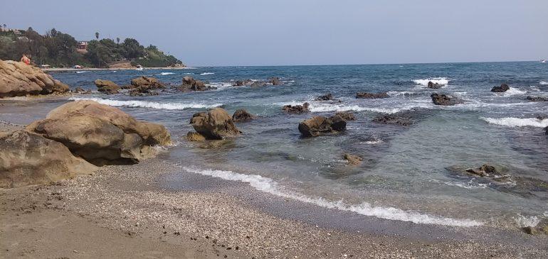 27 de Agosto 2017. Punta Chullera-TorreGuadiaro. Geomorfología costera. Aula museo de geologia Málaga