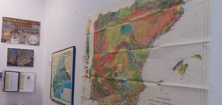 28 de Septiembre 2017. Minerales y Tesoros de la Tierra aula museo de geologia en Málaga. Una deuda histórica alcanzada desde el ámbito privado