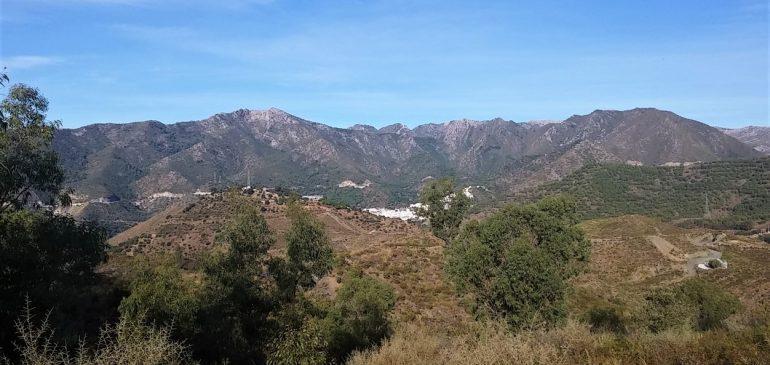 22 de Octubre 2017. Visita subterránea a la mina la Gallega II (Ojén). Aula museo de geologia Málaga