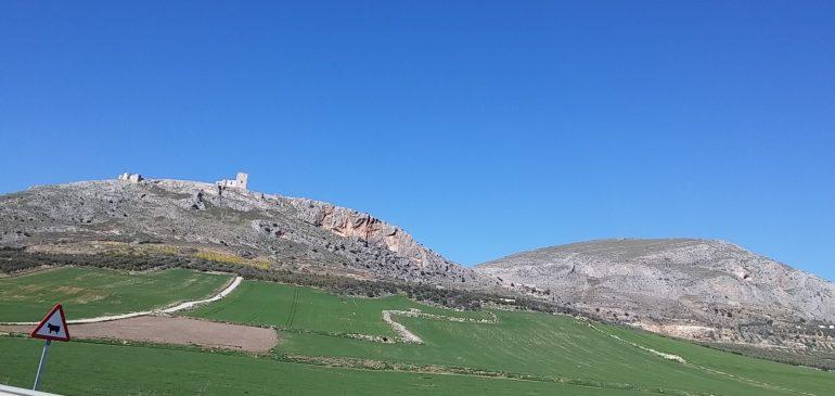 24 de Marzo 2019. Por la linea de cumbres del Castillo de Teba Aula museo de geologia (Málaga)