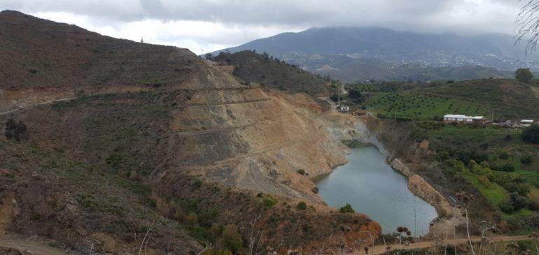 30 de Diciembre 2018. Sierra Alpujata NE visita a las minas de talco Por Fin y Tres Amigos. Aula museo de geología Málaga