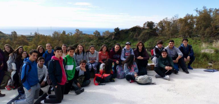 19 de Marzo 2018. Visita IES Guadalpin a la Mina el Peñoncillo-El Juanar  (Marbella-Ojén) Aula museo de geologia (Málaga)
