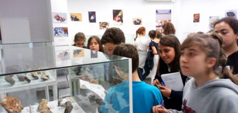 26 de Abril 2018. Visita CEIP Parque Clavero al Aula museo de geologia (Málaga)