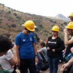 1 de FEBRERO 2020 Taller en el campo de minerales y rocas para niños y mayores en Arroyo zapateros (Málaga) .