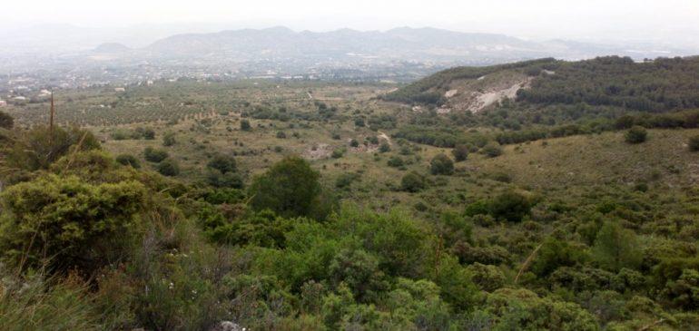 20 de Mayo 2018. Llanos de la Plata y su campo filoniano (Alhaurin de la Torre). Aula museo de geologia Málaga.
