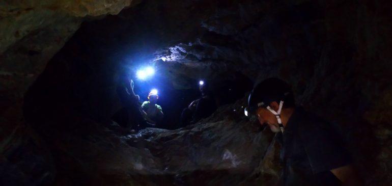 2 de Septiembre 2018. Por las minas de zinc-plomo de Arenales (Mijas). Aula museo de geologia Málaga.