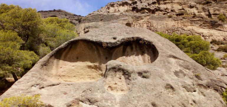 15 de Octubre 2018. Recorrido geológico Bobastro-Mesas de Villaverde (Parque Ardales). Aula museo de geologia Málaga.