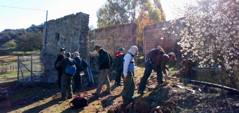 3 de Marzo 2019. Borbollones-Casillas de Galván Salinas (Archidona) Aula museo de geologia (Málaga)