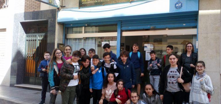 14 de Marzo 2019. Visita IES Litoral al Aula museo de geología Málaga