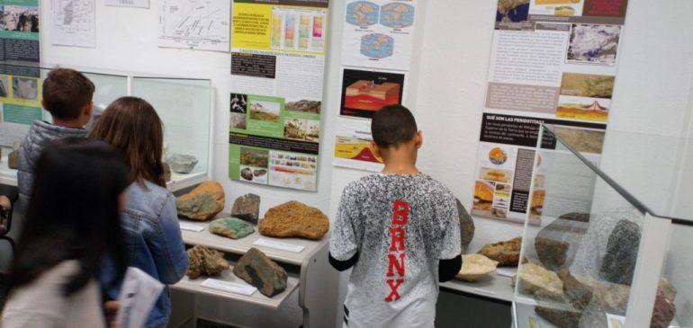 4 de Abril 2019. Visita CEIP Guadaljaire al Aula museo de geología Málaga