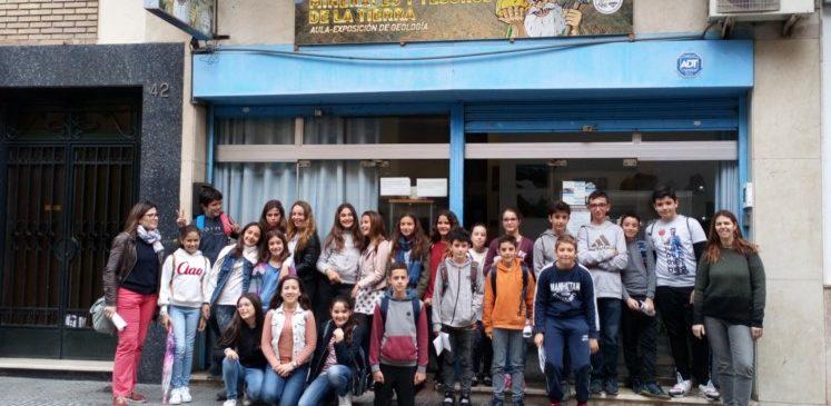 25 de Abril 2019. Segunda Visita CEIP Clara Campoamor alumnos 6ºPrimaria al Aula museo de geología Málaga
