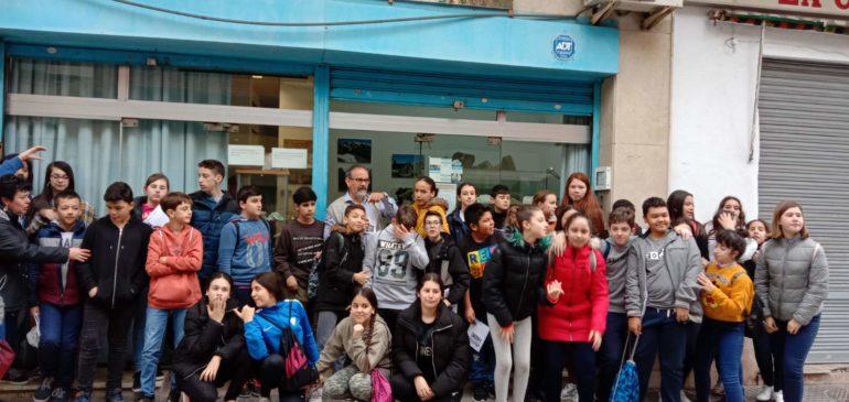18 de Febrero 2020. Visita alumnos 1ºESO IES Juan Ramón Jiménez Aula museo de geología Málaga