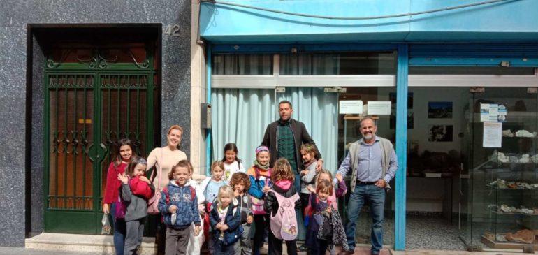 26 de Febrero 2020. Visita escolares de infantil CEIP Santa Ana (Alhaurin de la Torre) al Aula museo de geología Málaga