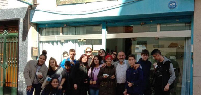 11 de Febrero 2020. Visita alumnos IES Carlinda 1º-2ºESO al Aula museo de geología Málaga