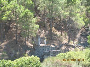 Pozo San Juan en el arroyo del Moro
