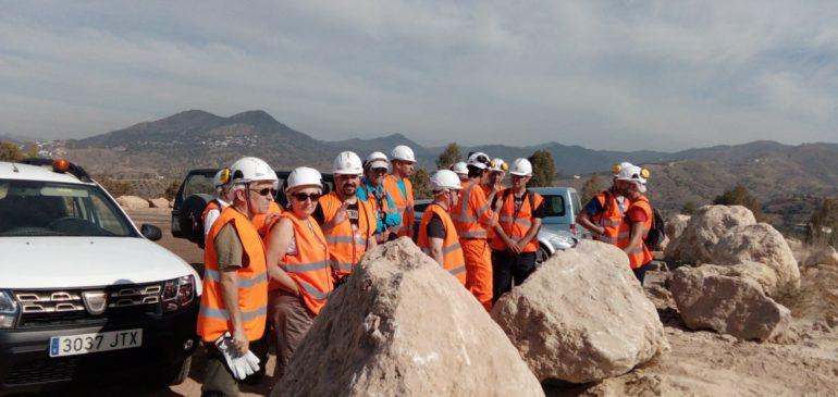 26 de Julio 2019. Visita a la Fábrica de cementos de la Araña (Málaga). Aula museo de geología Málaga