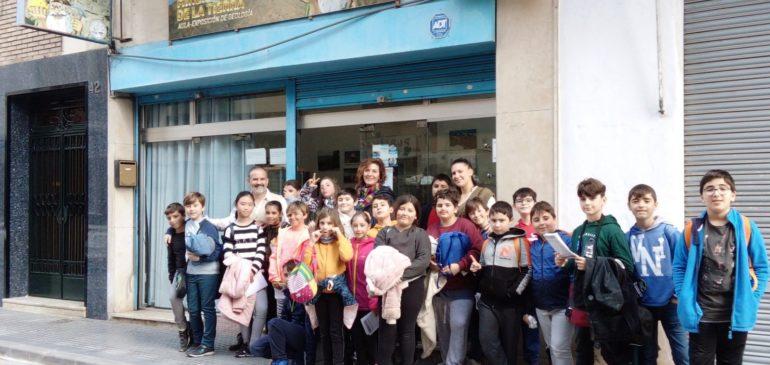5, 6 de Febrero 2020. Visita escolares 4ºPrimaria Colegio Paulo Freire al Aula museo de geología Málaga