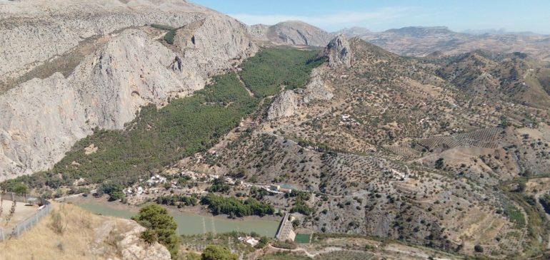 4 de Octubre 2020. Geotour Bobastro-Parque Ardales (Ardales). Aula museo de geología (Málaga)