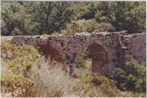 Minas de los Linarejos. Acueducto romano