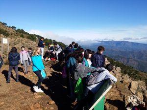 Admiramos nuestro impresionante paisaje. Lección aprendida!