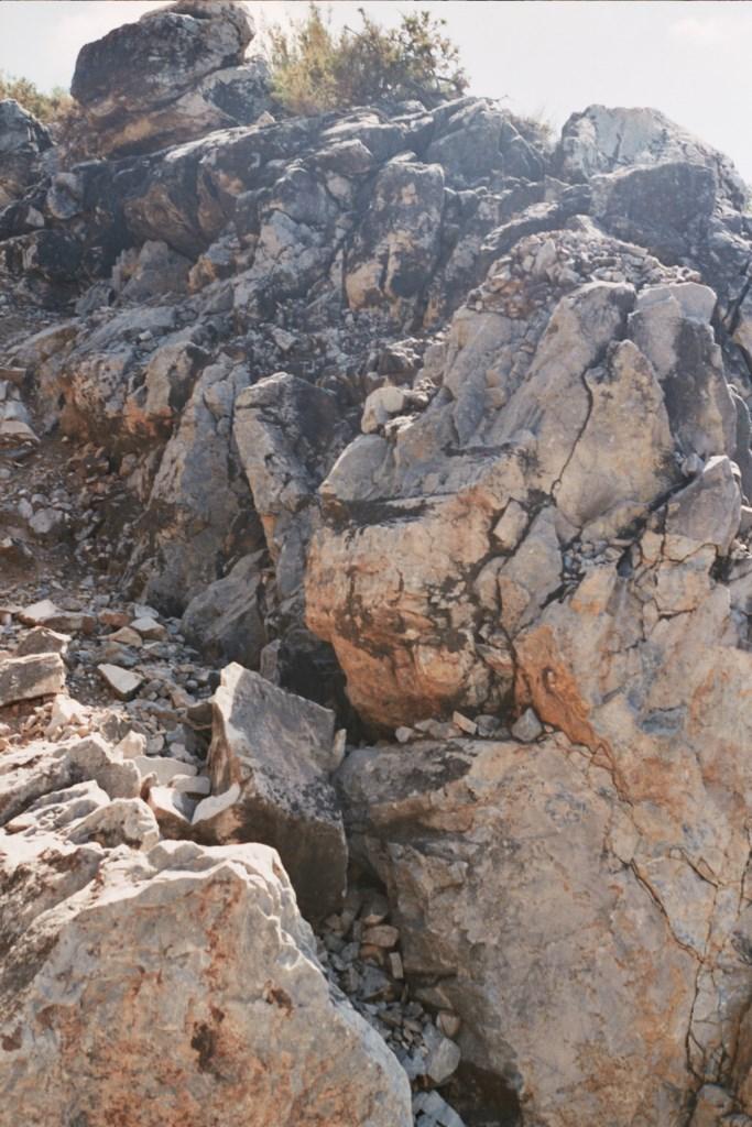 Mármoles mineralizados Llanos de la Plata