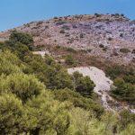 2 de ABRIL 2017. Minas de plomo plata del Pto las Grajas-Media Luna (Mijas)
