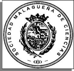 Escudo de la Sociedad Malagueña de Ciencias