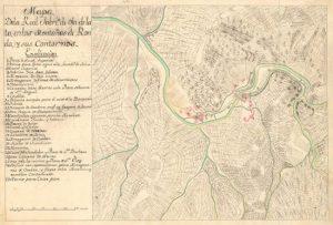 Plano de la fábrica de Hojalata de Júzcar junto al río Genal
